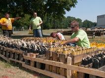 Pyrotechnics Setup Stock Photography