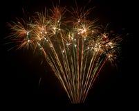 Pyrotechnie Photographie stock libre de droits
