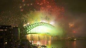 Pyrotechnie merveilleuse dans l'Australie clips vidéos