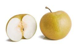 Pyrus pyrifolia  asian pear fruits Royalty Free Stock Photo