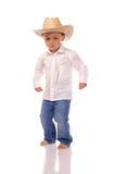 Lite cowboy Royaltyfria Bilder