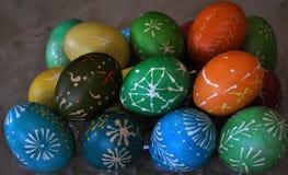 Pysanka Easter_4 de Lemko Fotos de Stock