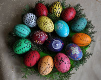 Pysanka Easter_7 de Lemko Foto de Stock Royalty Free