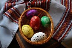 Pysanka Easter_5 di Lemko Fotografia Stock