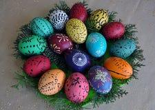 Pysanka Easter_8 di Lemko Immagini Stock