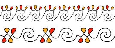 Pysanky ornament Etniczny wzór dla jajek dekoruje bezszwowy wzoru royalty ilustracja
