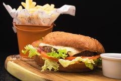 pyszne hamburgery Obraz Royalty Free