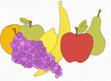 pyszne owoce Zdjęcia Royalty Free