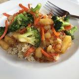 pyszne zdrowy posiłek Fotografia Royalty Free