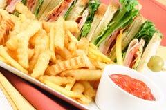 - pyszny posiłek Obraz Stock