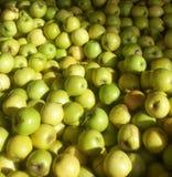 pyszny złote jabłka obrazy stock