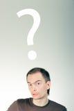 pytanie Fotografia Stock