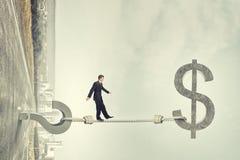 Pytanie pieniężni ryzyko Zdjęcie Royalty Free