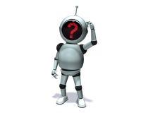 pytanie robot Fotografia Royalty Free