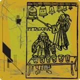 Pythagoras Lizenzfreie Stockbilder