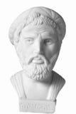 Pythagoras był znacząco Greckim filozofem, matematyczka, ge Zdjęcie Stock