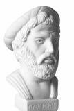 Pythagoras był znacząco Greckim filozofem, matematyczka, ge Obraz Royalty Free