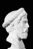 Pythagoras was an important Greek philosopher, mathematician, ge Stock Images