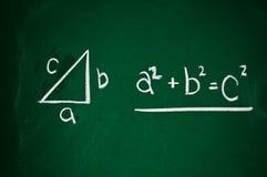 Pythagorean theorem Stock Photos