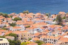 Pythagorio auf Samos lizenzfreies stockbild
