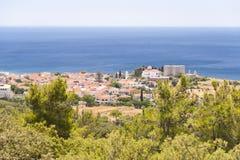 Pythagorio on Samos stock photo