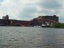 Python Bridge - Amsterdam Royalty Free Stock Images