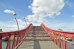 Python bridge in Amsterdam Netherlands Stock Image