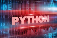 Python concept Royalty Free Stock Image