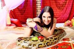 Python Smile Royalty Free Stock Photo