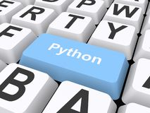 Pythonschlangenknopfillustration vektor abbildung