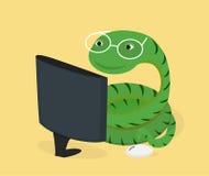 Pytonu języka programowania pojęcie Zdjęcia Stock