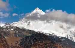 pyutha hiu chuli (7246 m) Dhaulagiri Himal Stock Photos