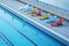 Pływacki basen Obraz Stock