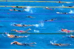 Pływacki basen Fotografia Royalty Free