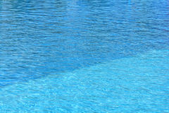 Pływackiego basenu wody powierzchnia Zdjęcie Stock