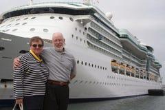 pływają statkiem do innego Zdjęcie Royalty Free