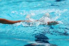pływanie konkurencji Zdjęcia Stock