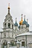 Pyzhi,莫斯科, Rusddia圣尼古拉斯教会  图库摄影