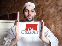 PZ Cussons品牌商标 免版税库存图片