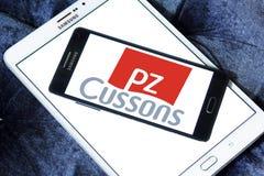 PZ Cussons品牌商标 图库摄影