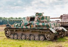 PzKpfw IV turret Royalty Free Stock Photo