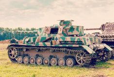 PzKpfw IV turret Royalty Free Stock Image