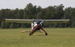 PZL-104维尔加 免版税库存照片