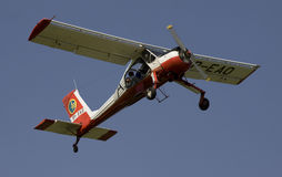 PZL-104维尔加 免版税图库摄影