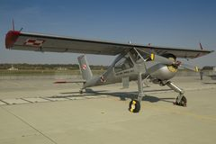 PZL-104维尔加 库存图片