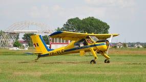 PZL-104维尔加 图库摄影