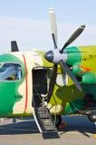 PZL M28B Bryza auf Radom Airshow, Polen Lizenzfreie Stockfotos