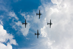 PZL M28 Skytruck, ładunek, samoloty pasażerscy Zdjęcia Royalty Free