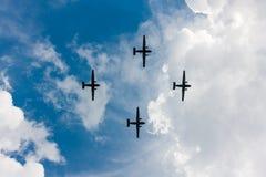 PZL M28 Skytruck, Fracht, Passagierflugzeuge Lizenzfreie Stockfotos