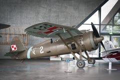 PZL P 11C 免版税库存图片